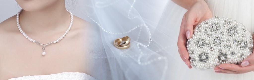 accessori sposa collana velo pochette
