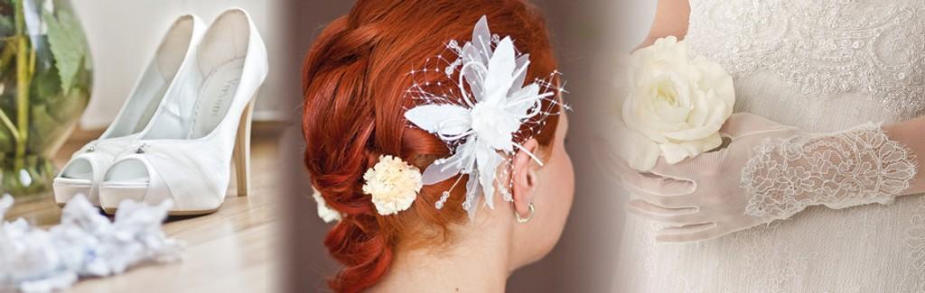 accessori sposa scarpe acconciature cappelli guanti