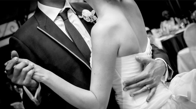 ballo nel giorno del matrimonio