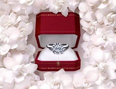 proposta di matrimonio anello